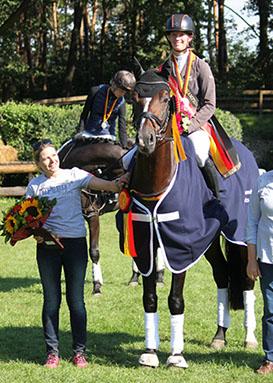 BuCHa 2018: Gentleman wird zum zweiten Mal Champion der Vielseitigkeitspferde